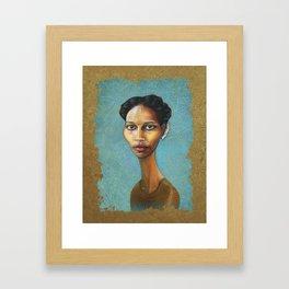 Portrait of Ayaan Hirsi Ali Framed Art Print