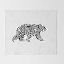 THE BEAR Throw Blanket