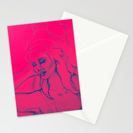 Lana Pink Stationery Cards