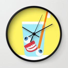 Tooth Brush Wall Clock