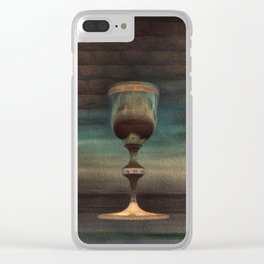 The Holy Grail Clear iPhone Case