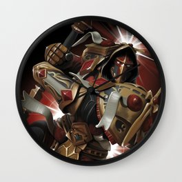 Vengeful Paladin Wall Clock