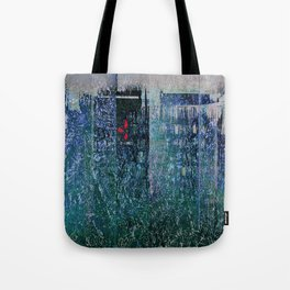 Green Concrete Tote Bag