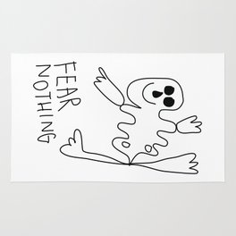 Fear Nothing Rug