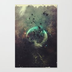βyrd wyrld Canvas Print
