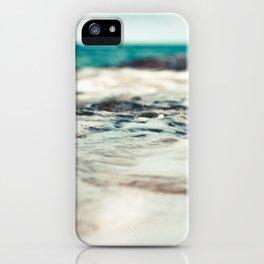 Kauai Sea Foam iPhone Case