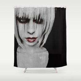 Lyric Portrait Shower Curtain