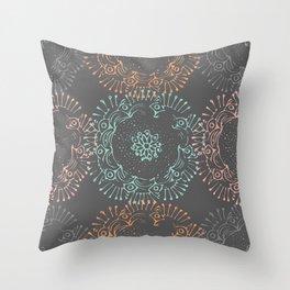 Flirty Doilies Throw Pillow