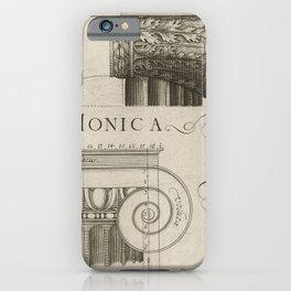 IONIC ARCHITECTURE iPhone Case