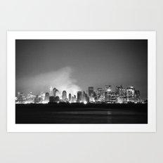 The City 1: In Ruins Art Print