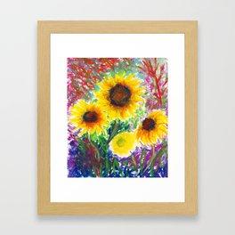 Sunflowers II Framed Art Print