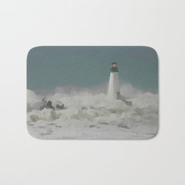 SANTA CRUZ LIGHT HOUSE 011 Bath Mat
