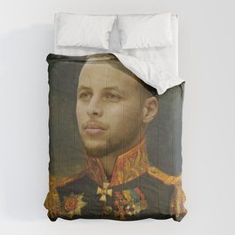 Steph Curry Classical Painting Comforters