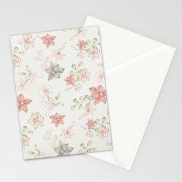 Orchidea pattern Stationery Cards