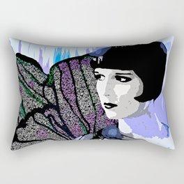 Louise Brooks:  We'll Always Have Paris Rectangular Pillow