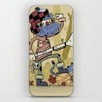 Wild hunt iPhone & iPod Skin