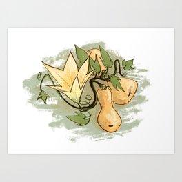 Butternut Blossom Art Print