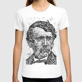 DAVID LIVINGSTONE ink portrait T-shirt