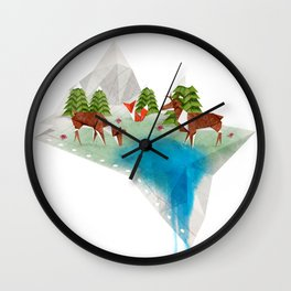 Oragama Wall Clock