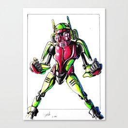 ROBOT CHILD Canvas Print
