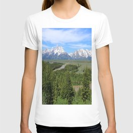 Snake River And The Grand Tetons T-shirt