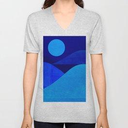 Abstraction_Moonlight Unisex V-Neck