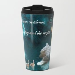 Your heart knows in silence Travel Mug