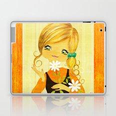 Sunshine Flower Girl Laptop & iPad Skin
