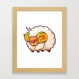 Jasper Ram Framed Art Print