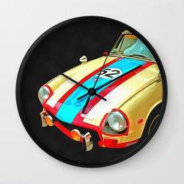 Triumph GT Pop Art Wall Clock