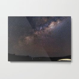 Milky Way in Chile Metal Print