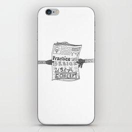 Safe Design illustration iPhone Skin