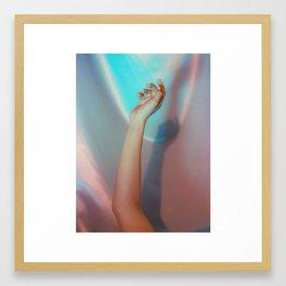 neon_melancholy Framed Art Print