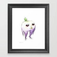 turnip baby Framed Art Print