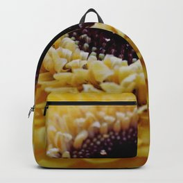 Yellow Germini Close Up Backpack