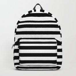 STRIPY (BLACK-WHITE) Backpack