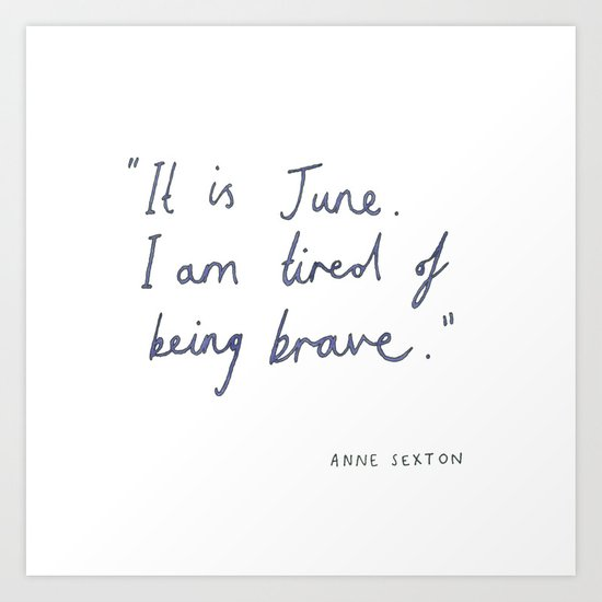 June Art Print