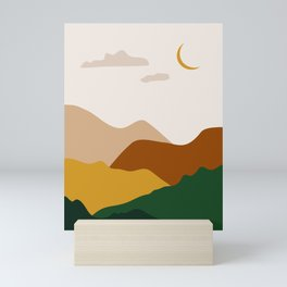 Abstract Art landscape Mini Art Print