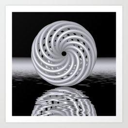 knotted circles -3- Kunstdrucke