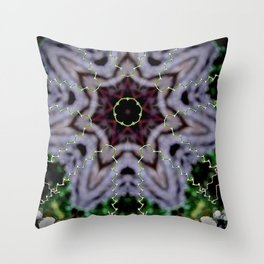 Tendrils and Stars Throw Pillow