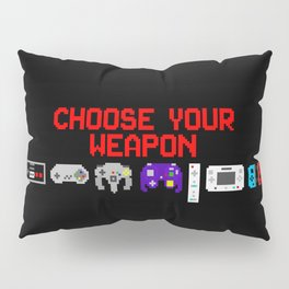Don't Lose Control Pillow Sham