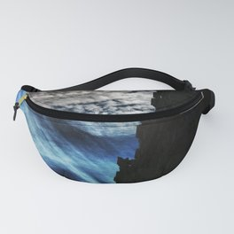 Ice Fire In The City Fanny Pack