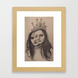 The Bone Queen Framed Art Print