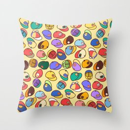 Hats for Everyone! Throw Pillow