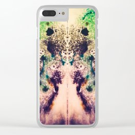Spider Mother Clear iPhone Case