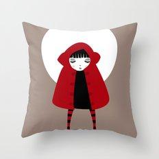 Little Red Riding Hood Throw Pillow