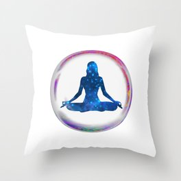 Striving for Clarity Throw Pillow