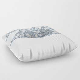 the Clouds Floor Pillow