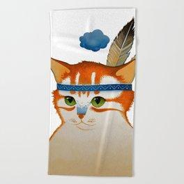LITTLE QUIET CLOUD by Raphaël Vavasseur Beach Towel