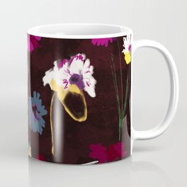 Sparse Flowers #original painting Coffee Mug